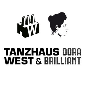 Tanzhaus West & Dora Brilliant logo